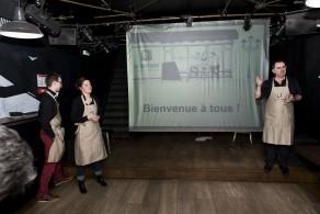 Amélie, Franck et Benoît, les bistrotiers