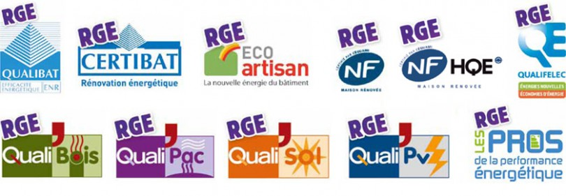 RGE label