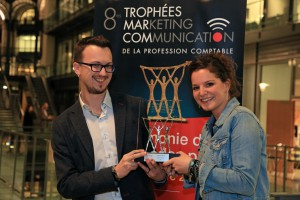Amélie Benoît trophée marketing communication bistrot des créateurs