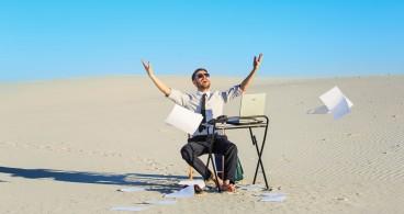 solitude chef d'entreprise