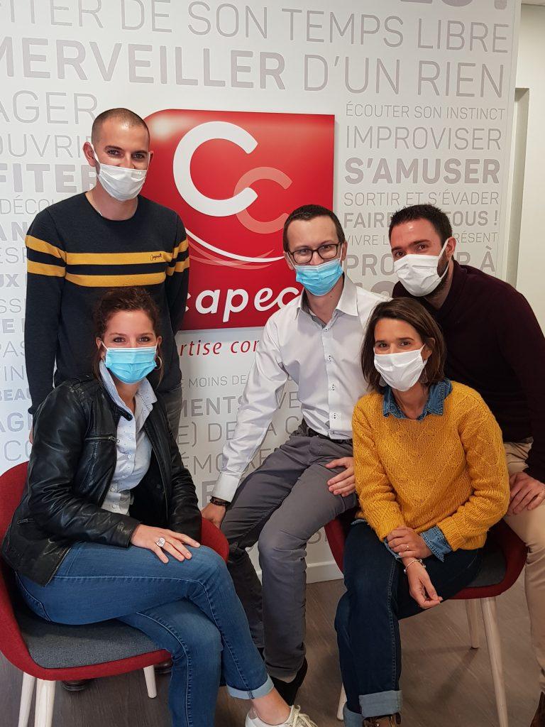 équipe du blog du bistrot des créateurs capec